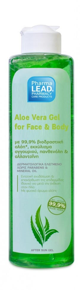 Pharmalead aloe vera gel 99,9% 100ml