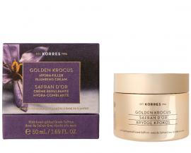 Korres Golden Krocus Hydra-Filler Plumping Cream Επανορθωτική Κρέμα Νεότητας 50ml