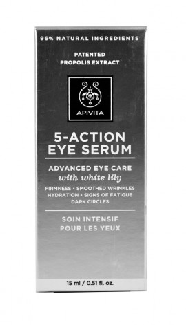 Apivita 5 Action Eye Serum 15ml