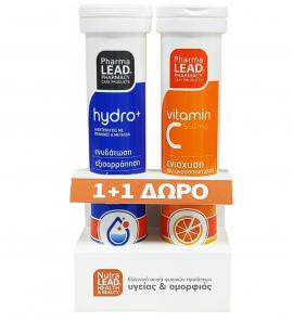 Nutralead Hydro+ 20Eff Tabs + Δώρο Βιταμίνη C 550mg 20Eff Tabs