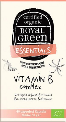 AM HEALTH ROYAL GREEN Vitamin B Complex 60caps