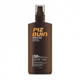 Piz Buin Sensitive Skin Spray SPF50+ Αντηλιακό Σπρέι Υψηλής Προστασίας για τις Ευαίσθητες Επιδερμίδες 200ml