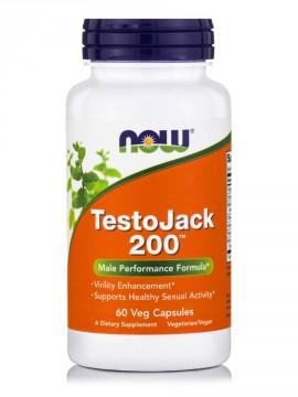 Now Foods Testo Jack 200, 60 Veg.Caps.