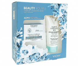Vichy Set Aqualia Thermal Gel 50ml + Δώρο Purete Thermale Γαλάκτωμα καθαρισμού 100ml