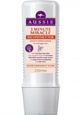 AUSSIE 3 Minute Miracle Moist Deep Conditioner Κρέμα 3 λεπτών για τα ταλαιπωρημένα & διψασμένα μαλλιά 250ml