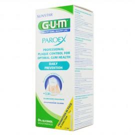 GUM PAROEX MOUTHRINSE 0,06%CHLORHXIDINE+CPC 500ML