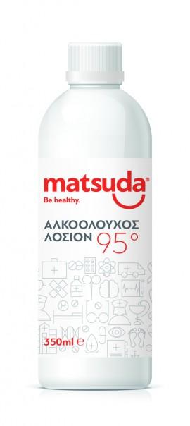 Matsuda Αλκοολούχος λοσιόν 95 350ml