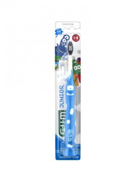 Gum 902 Kids Monsters Μπλε Παιδική Οδοντόβουρτσα 7-9 Ετών 1τμχ.