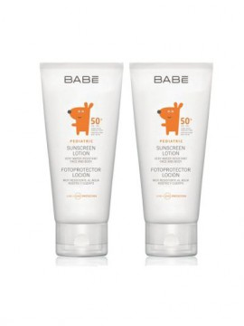 BABE Set Pediatric Sunscreen Lotion SPF50 100ml 1+1