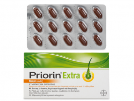 PRIORIN EXTRA Νέα Βελτιωμένη Σύνθεση 30 κάψουλες