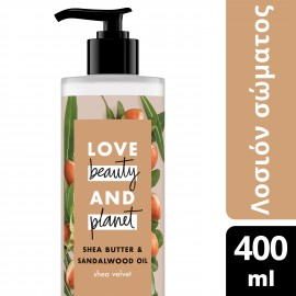 Love Beauty and Planet ΛΟΣΙΟΝ ΣΩΜΑΤΟΣ SHEA BUTTER 400ML