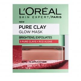 LOreal Paris Pure Clay Glow Masque Argile 50ml