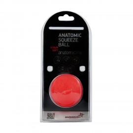 Anatomicline Μπαλάκι Εξάσκησης Χειρός Κόκκινο Anatomic Squeeze Ball 6104/R Soft
