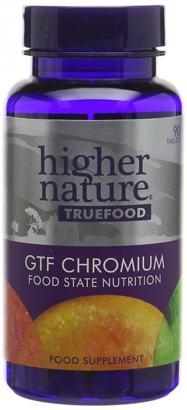 Higher Nature True Food GTF Chromium 90tabs