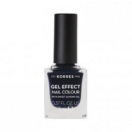 Korres Βερνίκι Νυχιών Gel Effect Nail Colour No88 Steel Blue 11ml