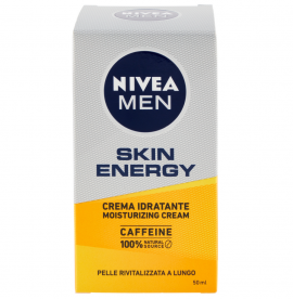 NIVEA MEN Skin Energy Ενυδατική Κρέμα Προσώπου 50ml