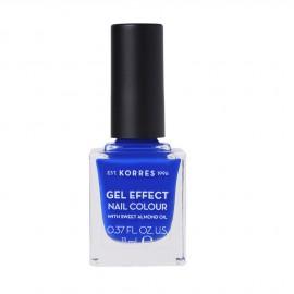 Korres Gel Effect Nail Colour 86 Ocean Blue 11ml