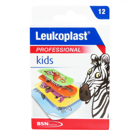 Leukoplast Professional Kids 2 μεγέθη (19mm X 56mm) + (38mm X 63mm)