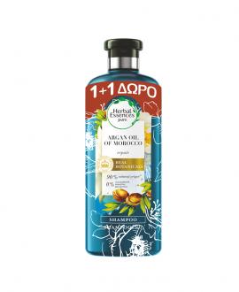 Herbal Essences Argan Oil Of Morocco Shampoo για Αναδόμηση 400ml 1+1 Δώρο
