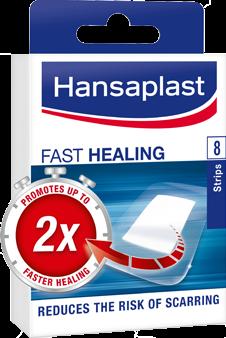 Hansaplast Guarigione Rapida Γρήγορης Επούλωσης 8 strips