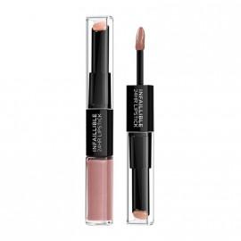 LOreal Paris Infaillible 24HR 2 Step Lipstick 111 Permanent Blush