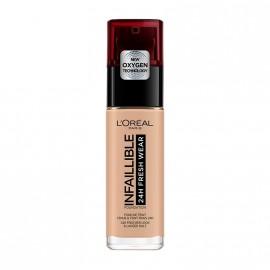 LOreal Paris Infaillible 24hr Freshwear Liquid Foundation 145 Rose Beige 30ml