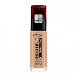 LOreal Paris Infaillible 24hr Freshwear Liquid Foundation 150 Radiant Beige 30ml