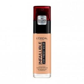 LOreal Paris Infaillible 24hr Freshwear Liquid Foundation 140 Golden Beige 30ml