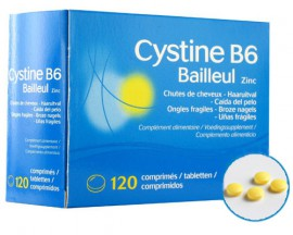 Biorga Cystiphane Cystine B6 Bailleul Zinc Διεγείρει τα μαλλιά και την ανάπτυξη των νυχιώv 120 ταμπλέτες