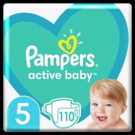 Pampers Active Baby No5 (11-16 kg) 110 Πάνες