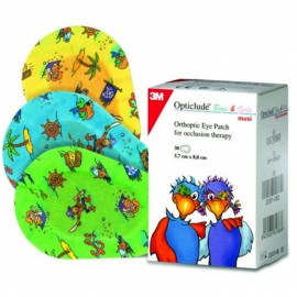 3M Opticlude Junior Boys & Girls Eye Patches 5.7cm x 8.2cm 20τμχ