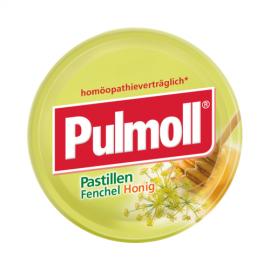 PULMOLL Καραμέλες με μέλι και μάραθο 75gr