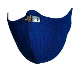 RespiShield Μάσκα γενικής προστασίας ΡΜ2.5 - PM10 Large Μπλέ 1τμχ