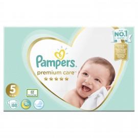 Pampers Premium Care Πάνες Μέγεθος No5 11-16Kg 88 Πάνες