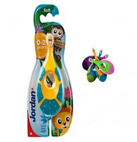 JORDAN Step 1 (0-2 ετών) Βρεφική - Παιδική Οδοντόβουρτσα 1τμχ.
