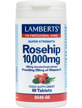LAMBERTS ROSE HIP 10.000MG 60TABS
