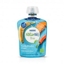Nestle Naturnes Bio Κολοκύθα,Μπανάνα,Καρότο 90g
