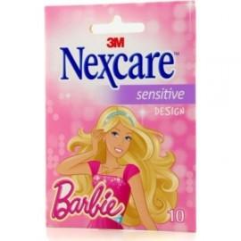 3M Nexcare Sensitive Barbie Μικροεπίδεσμοι 10τμχ