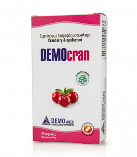Demo DEMOcran Εκχύλισμα Cranberry με Προβιοτικά 28caps