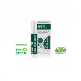 BetterYou Iron Daily Oral Spray 10mg 25ml