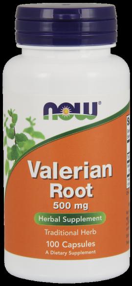 Now Foods Valerian Root 500mg 100 Veget.caps