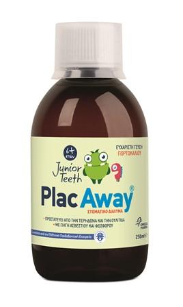 OMEGA PHARMA Plac Away Junior Teeth Στοματικό Διάλυμα 250ml