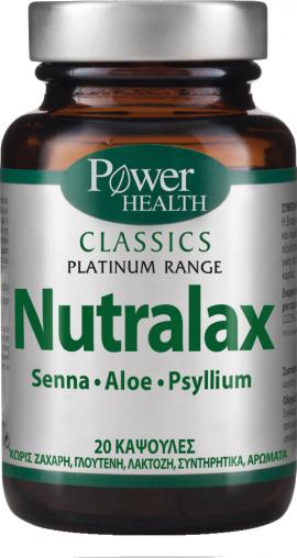 POWER HEALTH NUTRALAX 20 CAPS