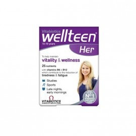 Vitabiotics Wellteen Her Πολυβιταμίνη για Έφηβες & Νέες Γυναίκες 30tabs