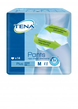 Tena Pants Plus Medium Πάνα - Εσώρουχο μιας Χρήσης 14τμχ