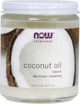 Now Solutions Coconut Oil Natural Skin & Hair Revitalizing 207ml