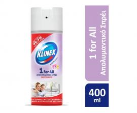 Klinex Απολυμαντικό Σπρέι 1for all Wild Flowers 400ml