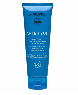 Apivita After Sun Cool & Sooth Face & Body Gel-Cream 100ml