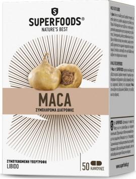 SUPERFOODS MACA EUBIAS 50CAPS