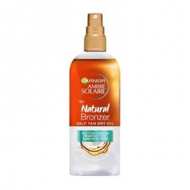 Garnier Ambre Solaire Natural Bronzer Self Tan Oil 150ml
